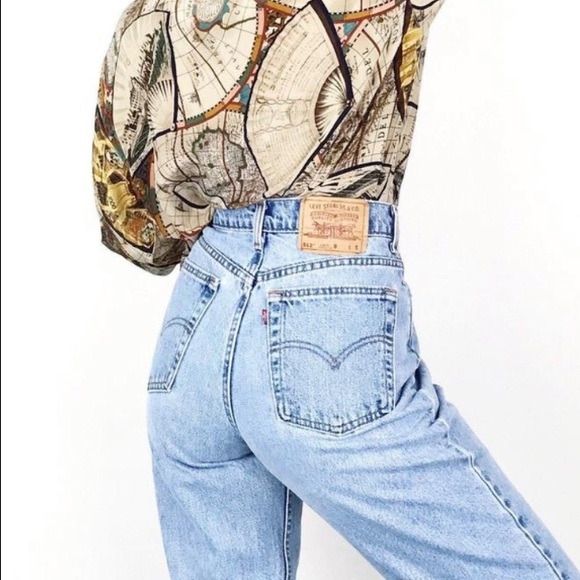 Levi's Vintage 512 Tapered Leg Light Wash Jeans